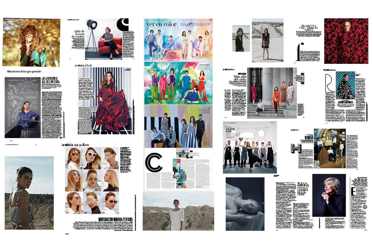 collages con imágenes de colaboraciones