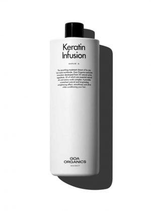 Salón Rafael Dueñas_Goa Organics_keratin infusion bottle